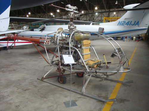 Murray Model T Homebuilt Helicopter