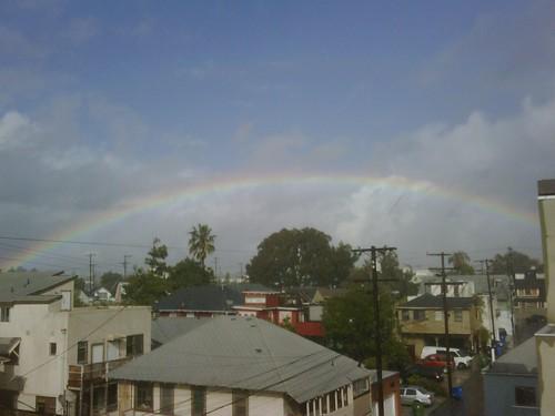 Rainbow in Los Angeles