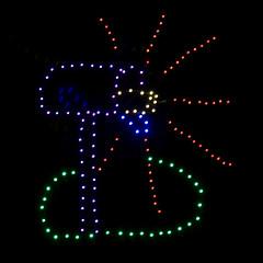 CF409 Holiday Light Mailbox (listentoreason) Tags: christmas sky usa holiday night america unitedstates pennsylvania farm scenic favorites places event shadybrook ef28135mmf3556isusm holidaylighting score25 shadybrookfarm