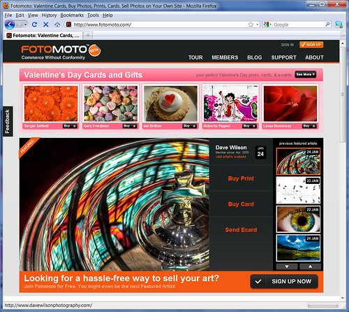 Fotomoto Featured Artist