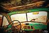 Por dentro (Stromboly) Tags: old colors car drive camion carro inside van viejo hdr saturado volante camioneta oxidado slp maltratado