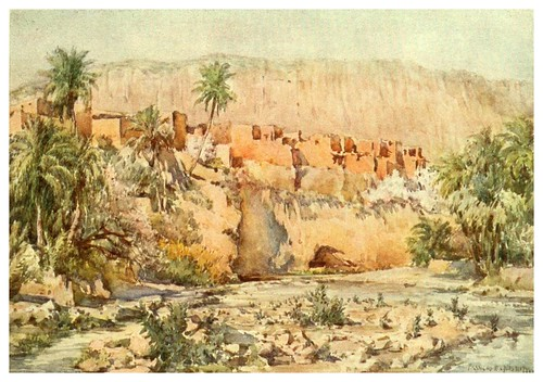 010-En el corazon de un oasis-Algeria and Tunis (1906)-Frances E. Nesbitt