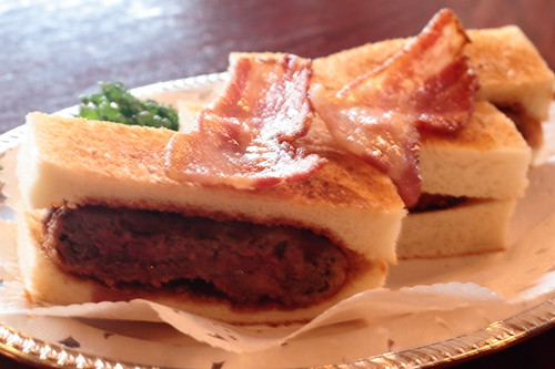 Beef sandwich from Inoda Cafe