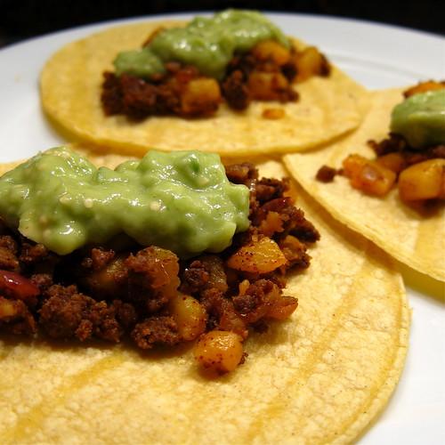 #25 - Potato & Chorizo Tacos