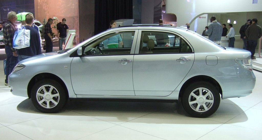 BYD Auto Show Vehicle