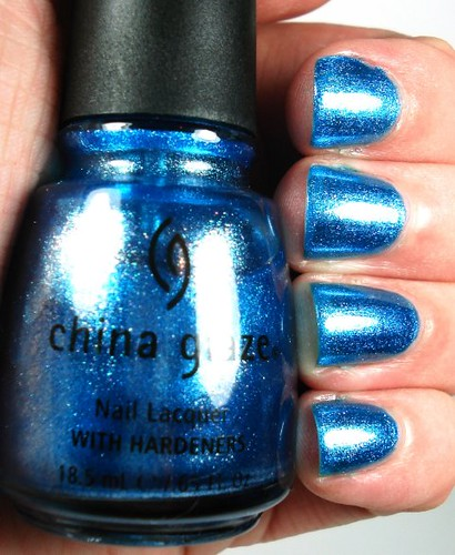 China Glaze Stroke Of Midnight