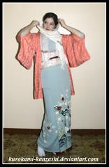 Fuyunoeibetsu II (Kurokami) Tags: winter ladies girls woman snow toronto ontario cold ice girl japan lady scarf asian japanese frozen cool women asia blossom crane snowy traditional plum freezing covered farewell freeze kimono pashmina icy ume kitsuke wintery tsuru haori tsukesage houmongi