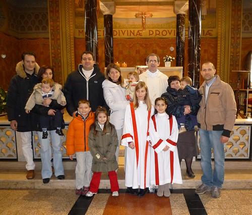 Balbiano, 31/1/2010- Fesat della famiglia