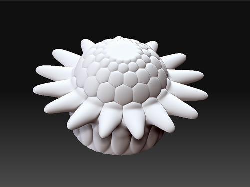 zbrush bowl flower