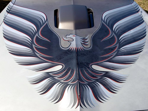 1979 Trans Am Bonnet emblem