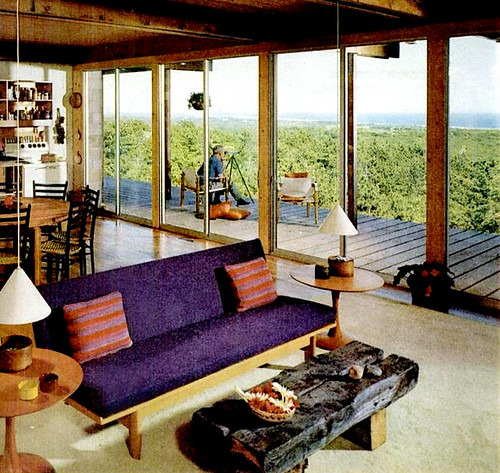 Mid-Century Living: Living Rooms (1960-65
