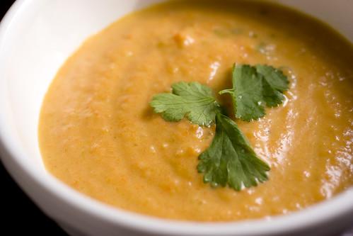 Szechwan Carrot Soup