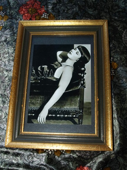 RiffRaffRosie Louise Brooks vintage photo and frame