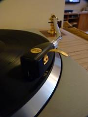 "Technics SP10 Mk 2 with 12"" Thomas Schick Arm & Ortofon SPU Reference Gold  Cartridge (plummer_ballinger) Tags: thomas technics turntable ortofon plinth tonearm spu schick sp10"