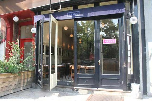 Prune Restaurant - Lower East Side - Manhattan
