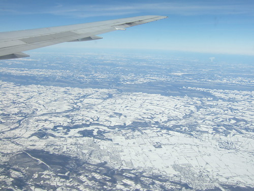 Flying Back to WDC February 7 2010 (over PA and VA)