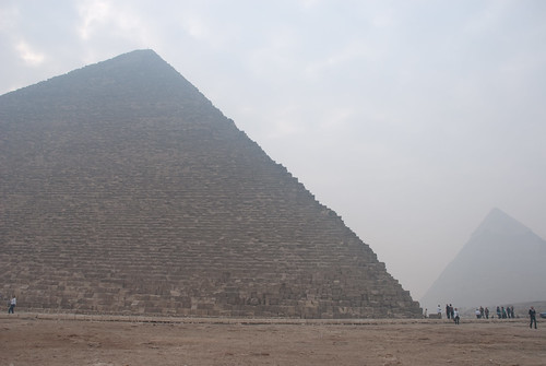 Pyramids in the smog