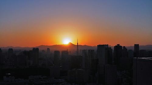 Tokyo Sky Sunset