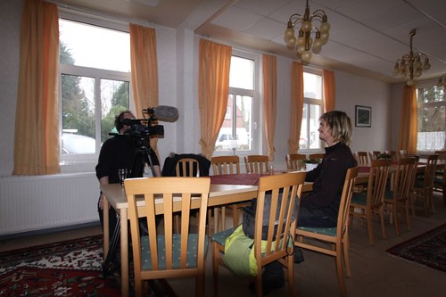 Interviewing in a German restaurant near Oldenburg...