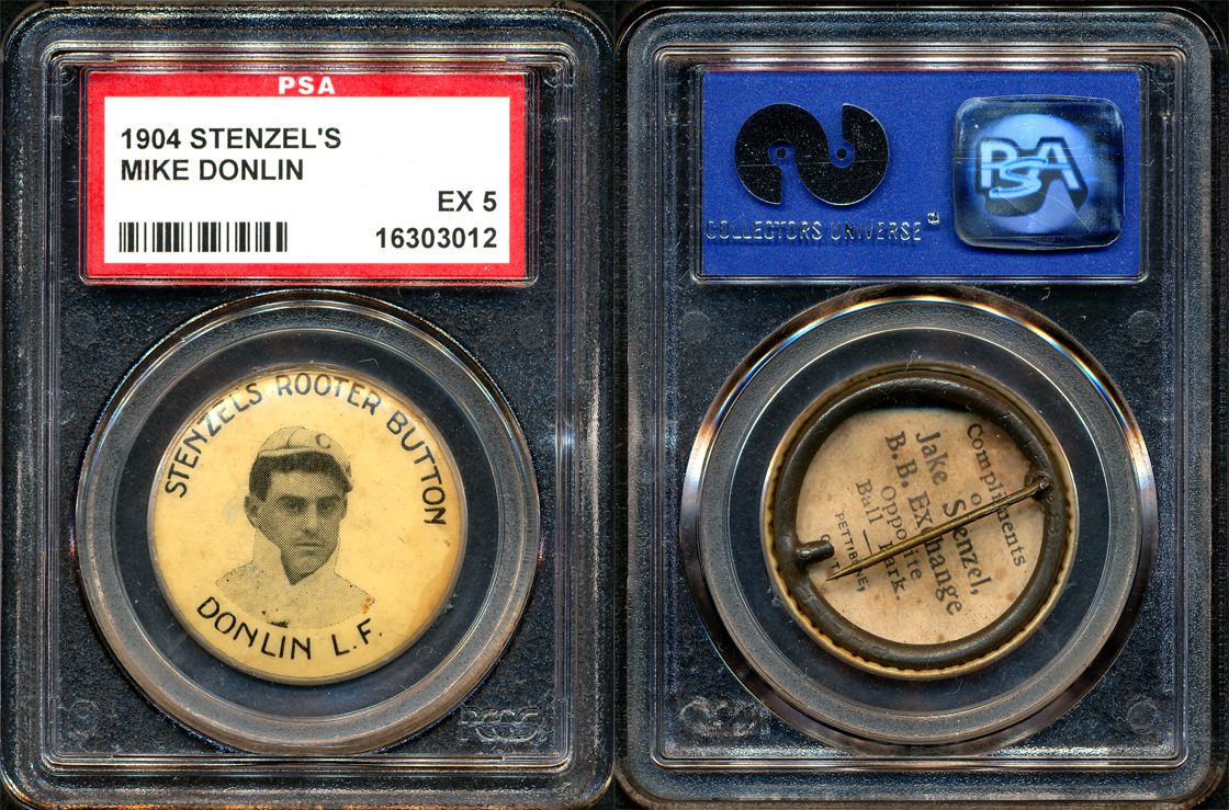 1904 Stenzel's Rooter Button