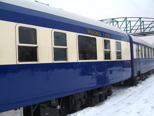 European heritage train for charters - exterior