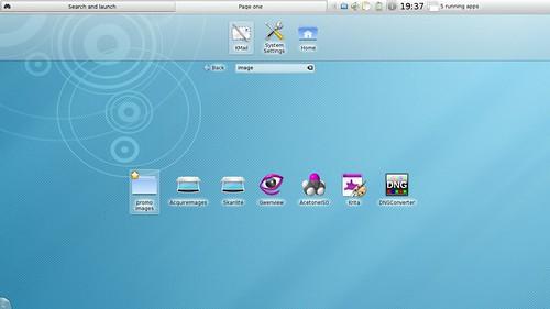KDE Plasma Netbook