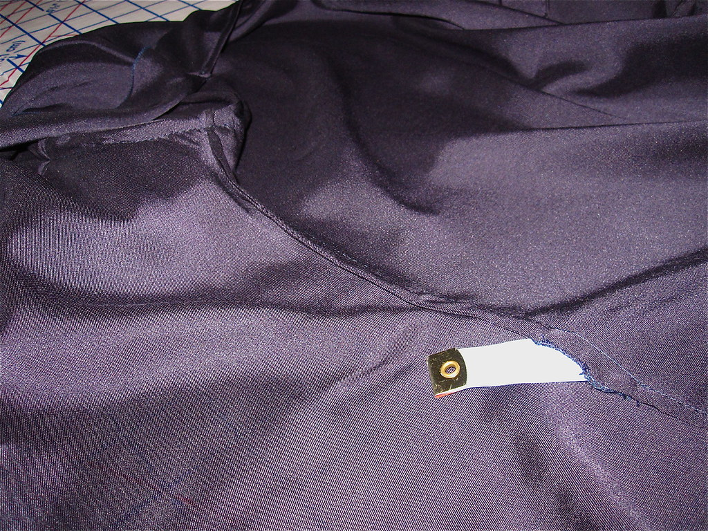 Tie Opening in French Seams