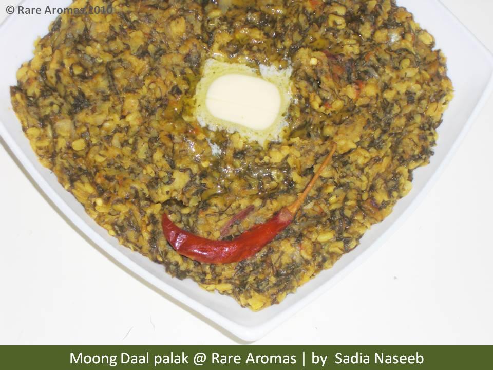 moong Daal Palak