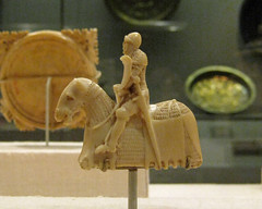 Ivory Chess Piece in the Form of a Knight
