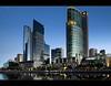 Rising City (Chantal Steyn) Tags: city longexposure blue light reflection building skyline night skyscraper nikon cityscape tripod australia melbourne nikkor d300 jarrariver crowncasion 1685mm