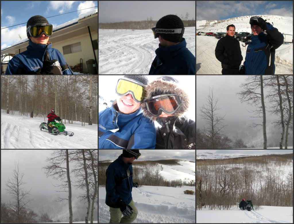 snowmobiling 2010