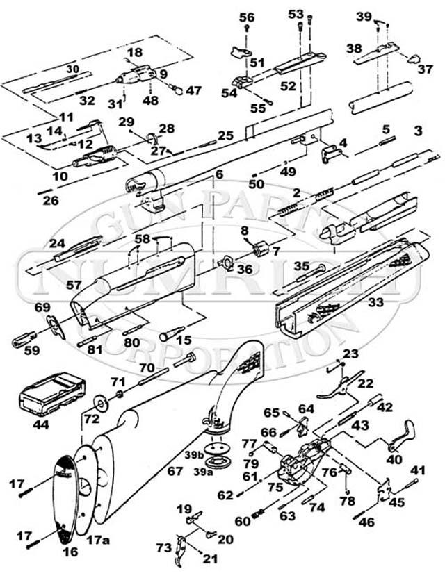 Diagram Of Model 98 Mauser Bolt Action Rifle Auto