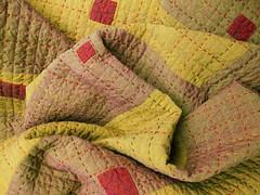 Work Quilt #3 - Detail (BooDilly's) Tags: inspiration embroidery quilting patchwork artquilt piecing handstitching handquilting studioquilt shotcotton sillyboodilly boodillys victoriagertenbach workquilt utilitarianquilt robertkaufmanchambrays