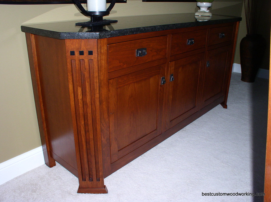 Cherry Buffet (Stickley-Inspired) View 2.