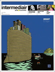 x-mas cover Intermediair magazine (jaap!) Tags: art illustration magazine design cover director weekly joost jaap biemans coverdesign intermediair swarte