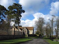 Chilton House driveway