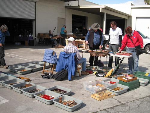 swap meet tables