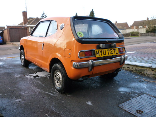 Funky Honda Z600 Coupe for Sale - smartManiacs