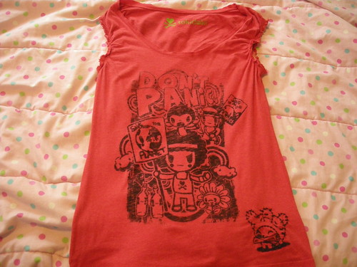 MY tokidoki don't panic shirt
