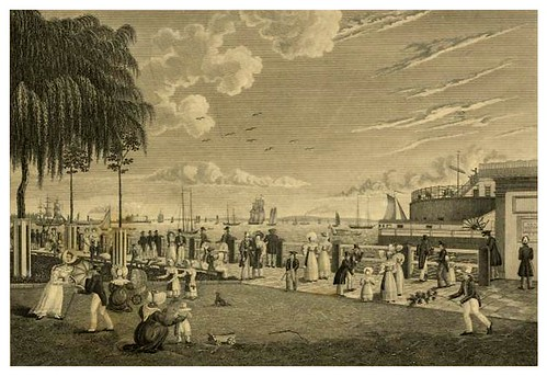 025-Vista de la bahia y puerto de New York desde Battery 1830-The Eno collection of New York City-NYPL