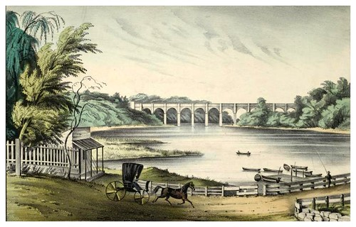 009-El gran puente de Harlem en New York 1849-The Eno collection of New York City-NYPL