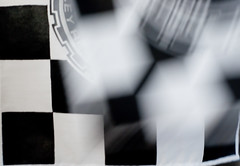 #53 - Taking the checkered (gregr) Tags: white black race flag racing 365 checkered checker checkeredflag project365