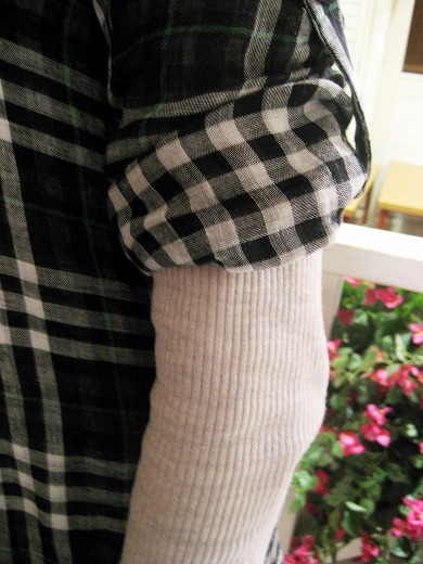 Plaid Tunic from FREE'S SHOP