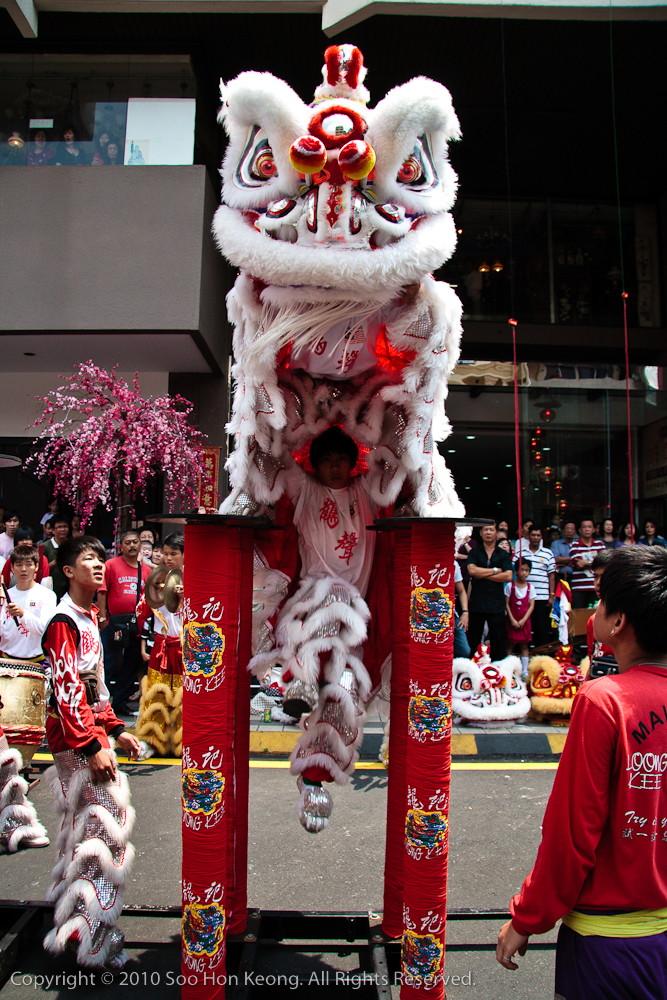 Lion Dance @ Kompleks Selangor, KL, Malaysia