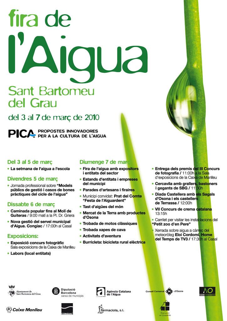 Fira de l'Aigua PICA 2010