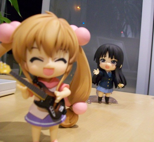 Rin took Mio's Bass