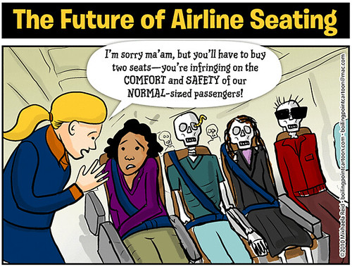 Cartoon: The Future of Airline Seating