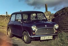 Mini 850 Dales 270979 (wwatfam) Tags: road purple yorkshire mini dent british coal dales leyland 850 aconite garsdale