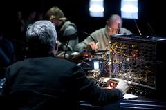 Keith Rowe, Kjell Bjrgeengen & Streifenjunko @ Paradiso (Sonic Acts) Tags: sonicacts sonicacts2010 donderdag day1 openingday amsterdam tiemen sonicactsxiii thepoeticsofspace mediaart sonicart festival
