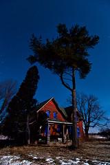 K20D4254 (Bob West) Tags: longexposure nightphotography night fullmoon moonlight nightshots 15c southwestontario bobwest k20d pentax1224 desertedredbrickhouse